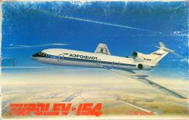 Tupolev Tu-154 - 1/200 Scale