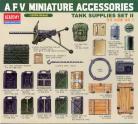 AFV  Miniature Accessories Tank Supplies Set II - 1/35 Scale