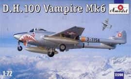 De Havilland DH.100 Vampire Mk.6 - 1/72 Scale