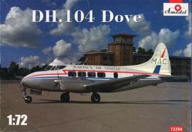 De Havilland DH 104 Dove Martin's Air Charter - 1/72 Scale