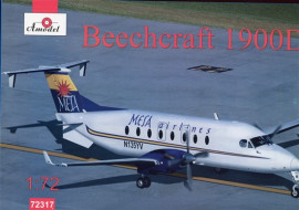 Beech 1900D Mesa Airlines - 1/72 Scale