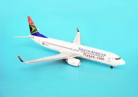 Boeing 737-800 South African Airways - 1/200 Scale