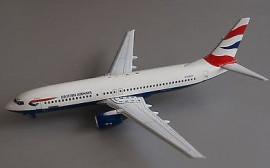 Boeing 737-800 British Airways  (GB Airways) - 1/200 Scale
