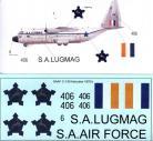 SAAF C-130 Hercules 1970's scheme - 1/72 Scale