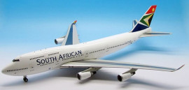 Boeing 747-400 South African Airways - 1/200 Scale