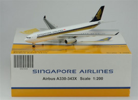 Airbus A330-343X Singapore Airlines - 1/200 Scale