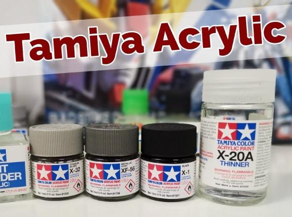 Tamiya Acrylics