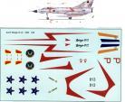 SAAF Mirage IIICZ 1960's markings 1/48 Scale