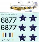 SAAF C-47 '6877 Dazzle Dak' 1/48 Scale