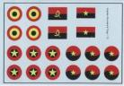 Angolan Air Force Roundels & Flags - 1/72 Scale