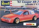 '92 Cougar XR-7 Lowrider 3 'n 1 - 1/25 Scale