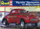 Big John Mazmanian '41 Willys Gasser - 1/25 Scale