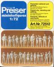 Passenger standing and walking - 1/72 Scale