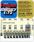 German Infantry Riflemen lined-up 1939-45 - 1/72 Scale