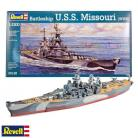 Battleship USS Missouri - 1/1200 Scale