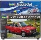 VW Golf 1 Cabriolet Model Set - 1/24 Scale