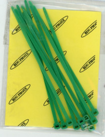 Cable Ties 10cm Green