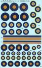 SAAF 4 Colour Roundel YBWO - 1/72 Scale