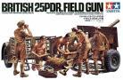 British 25 Pounder Field Gun - 1/35 Scale