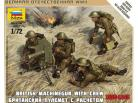 British Vickers Machine Gun Crew 1939-1945 - 1/72 Scale