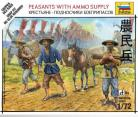 Peasants with Ammo Supply - 1/72 Scale